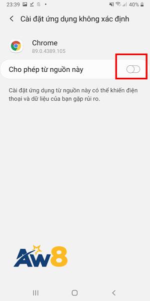 app cá cược aw8