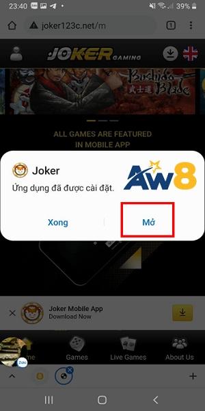hướng dẫn tải app aw8