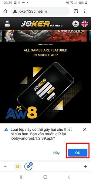 tải ứng dụng aw8